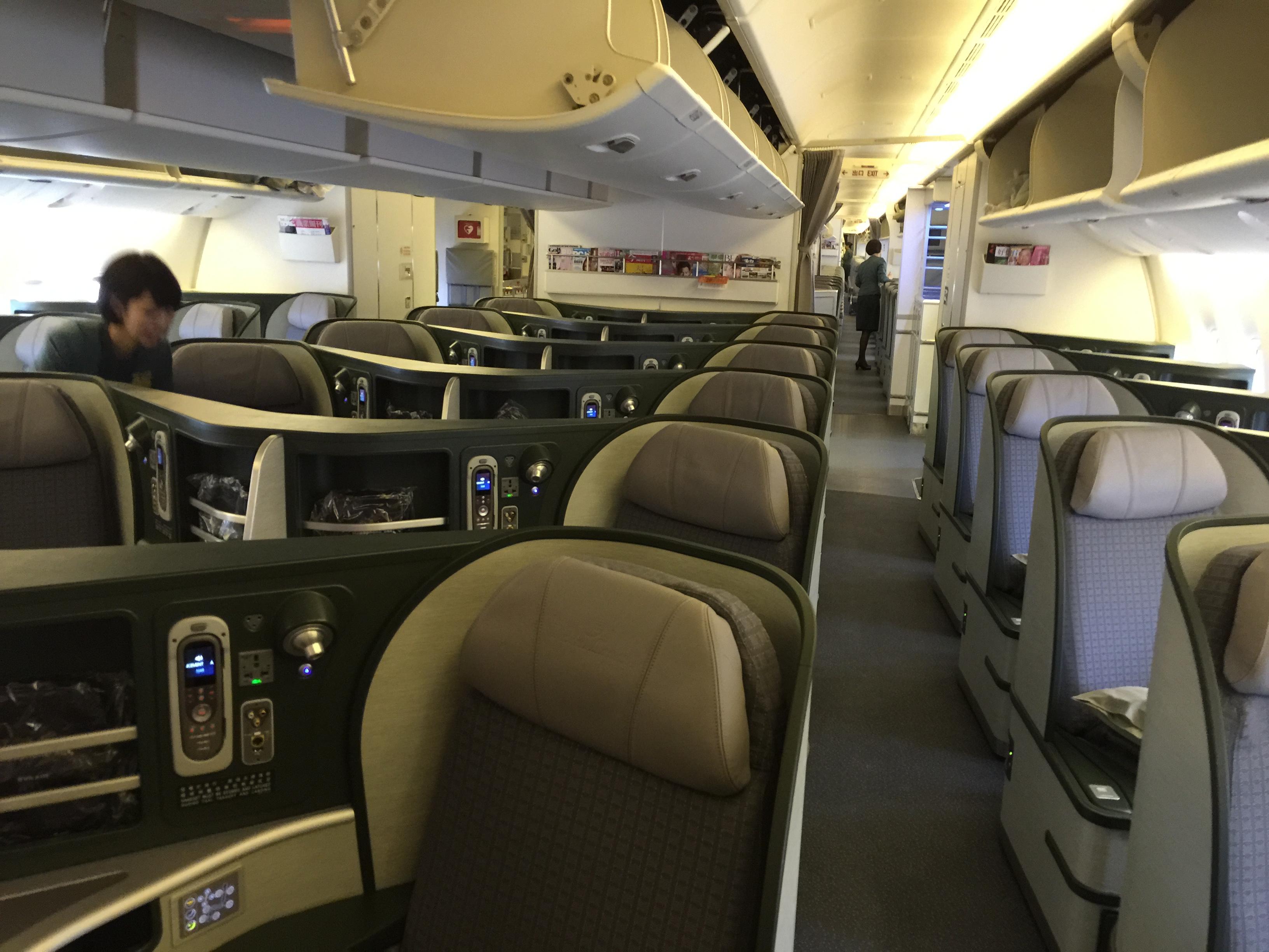 Eva Airlines Royal Laurel Business Class Ndash Taipei To