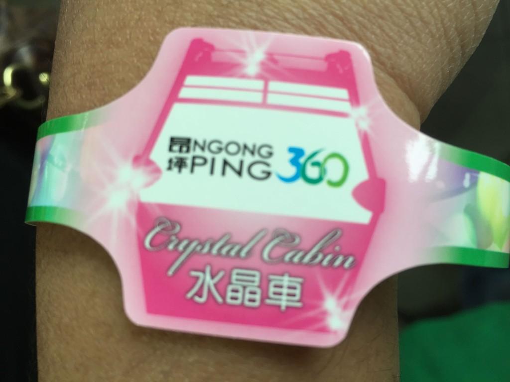Crystal Cabin Wristband