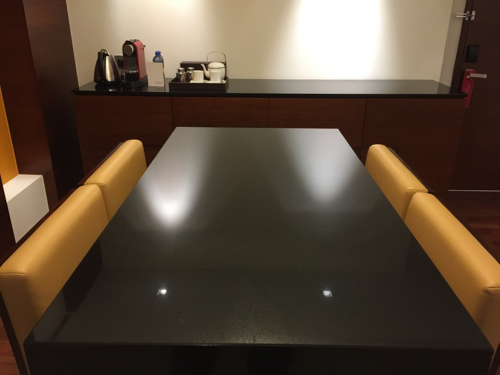 Table and Side Board
