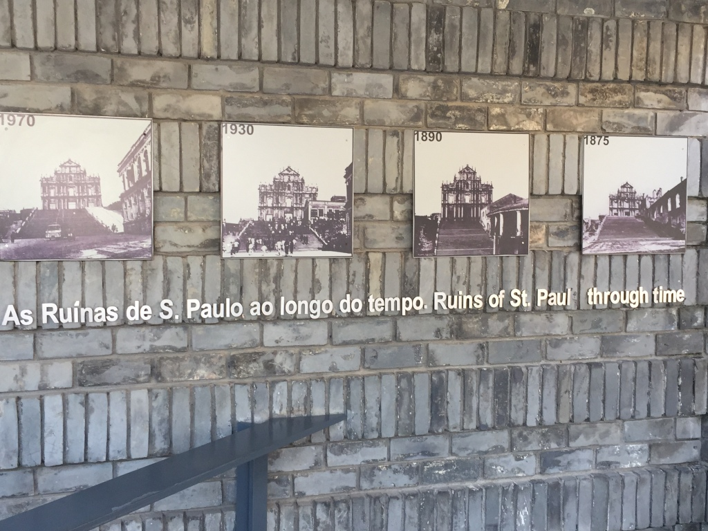 Ruin's of St. Paul's