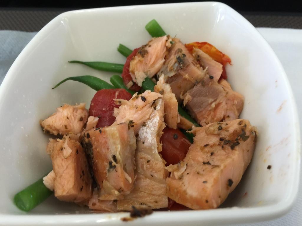 Hot Smoked Salmon appetizer