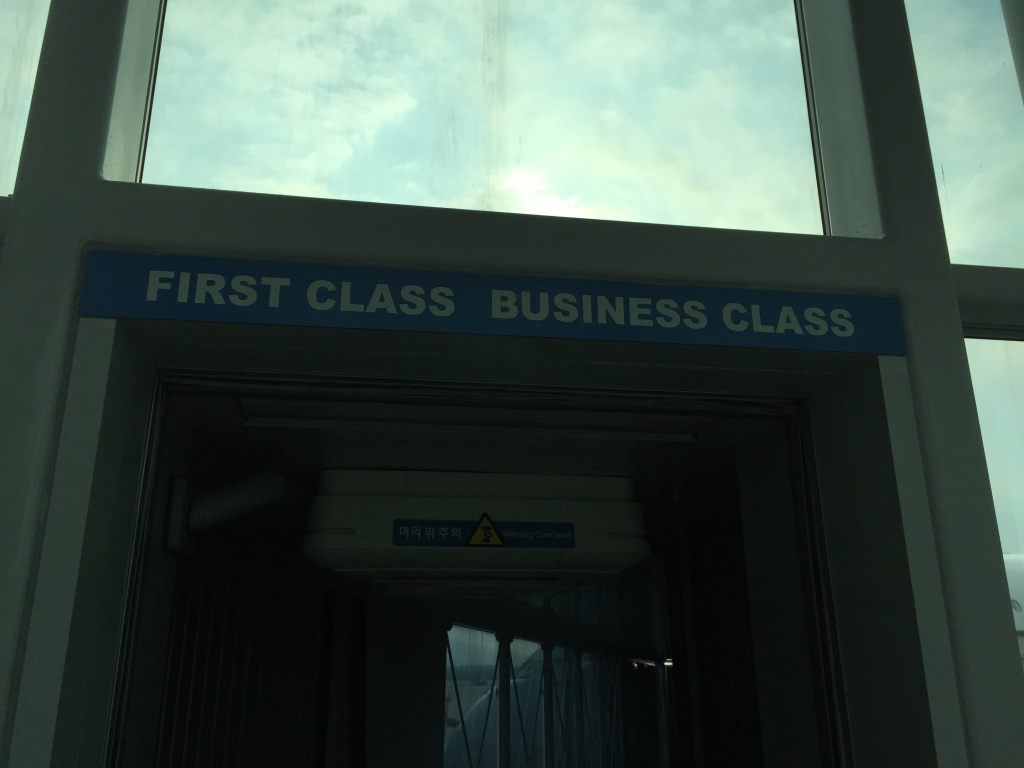Jetway to First/Business Class
