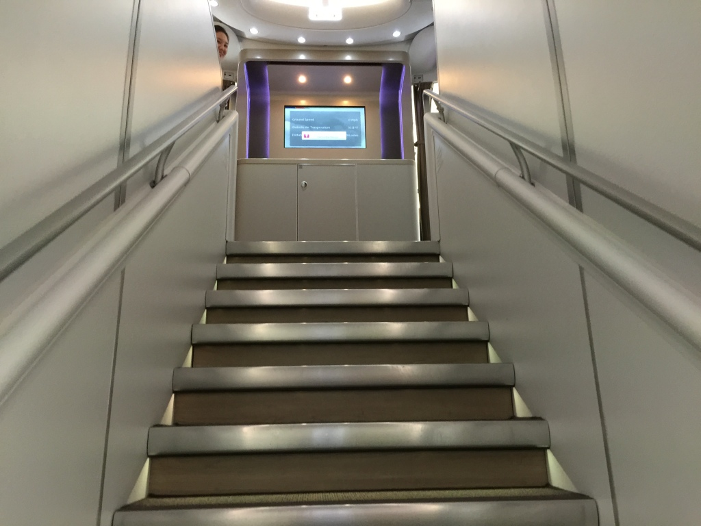 Stairs to Business Class