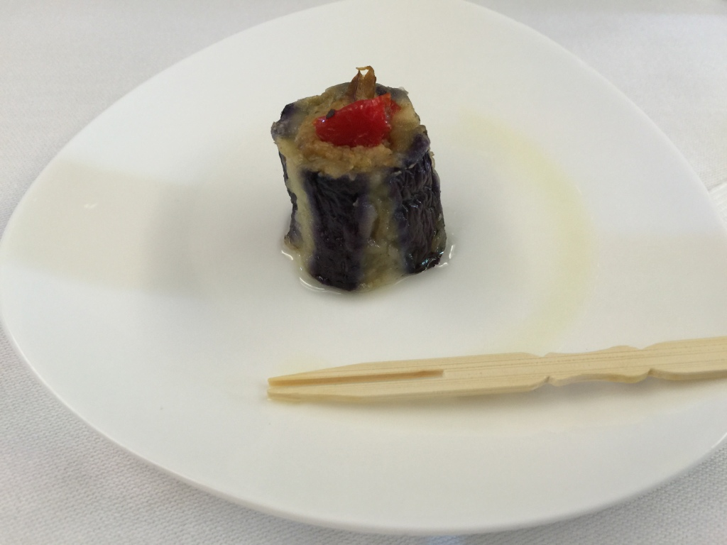 Eggplant Canape